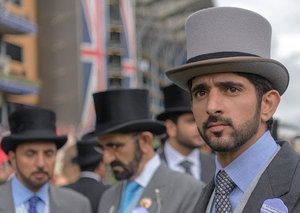 Sheikh Hamdan shares never-before-seen picture from his time at Sandhurst