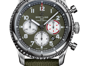 Breitling's new olive watches are bang on trend