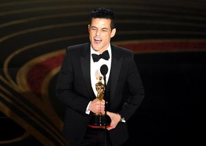 Rami Malek pays homage to his Egyptian roots at 2019 Oscars