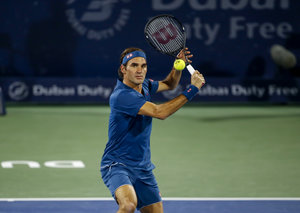 Roger Federer has withdrawn from the Dubai Duty Free Tennis Championships