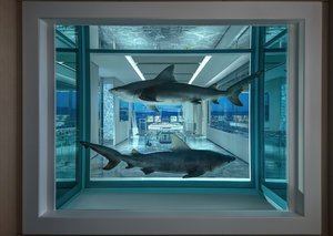 Inside the most expensive $100,000-a-night hotel suite by Damien Hirst