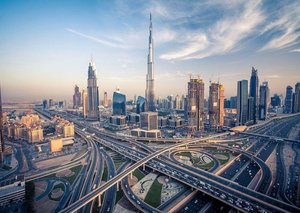 Drone captures stunning shots of world's tallest building