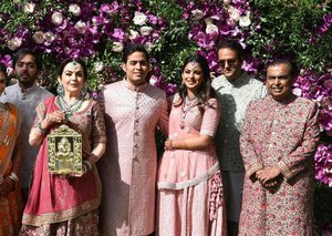 Inside the big, fat Indian wedding of the son of Asia's richest man