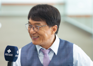"""Dubai is really hot, but that's okay"" – Jackie Chan"