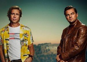 We don't know why Leonardo DiCaprio calls Brad Pitt 'lover'