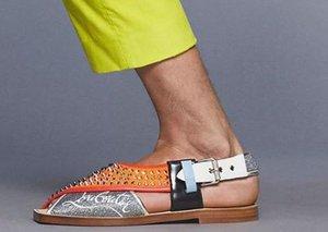 Christian Louboutin's 'Imran Sandals' miss their mark
