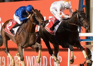 Sheikh Mohammed's Thunder Snow wins second Dubai World Cup