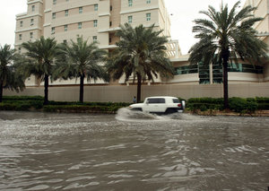 Why is it raining so much in Dubai this year?