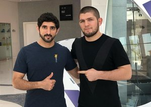 Khabib Nurmagomedov to fight in Abu Dhabi 'very soon'