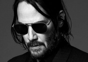 Keanu Reeves' summer look is basically the 'Prince Of Darkness'