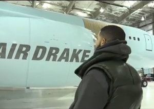 Inside Drake's new US$185million private jet - 'Air Drake.'
