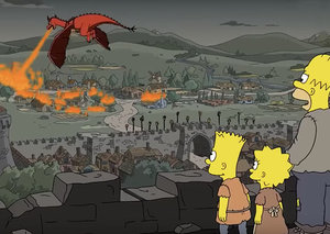 The Simpsons are 'on fire' with a spot on GoT prediction