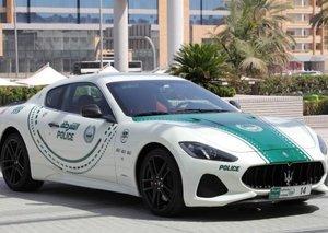 Dubai Police adds Maserati GranTurismo to list of super enforcement cars