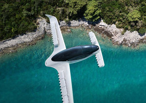 A five-seater 'air taxi' has had a successful flight