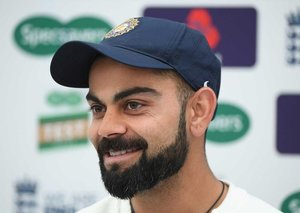 Virat Kohli in Dubai to launch new line of fragrances