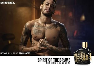 Diesel teams with footballer Neymar Jr to launch new fragrance