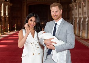 Prince Harry sports a $650 J.Crew suit to introduce Royal Baby Archie