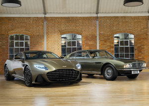 Aston Martin has a new special edition James Bond-inspired car