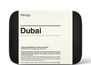 Aesop Travel Kits embrace the Dubai lifestyle