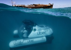 Uber is about to launch a $2,000 Submarine ride-share service