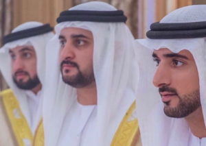 Dubai Crown Prince Sheikh Hamdan and his two brothers host wedding reception