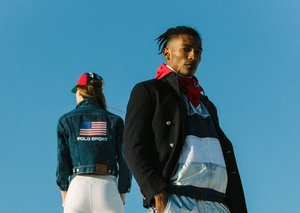 Ralph Lauren Polo Sport is another archival high note