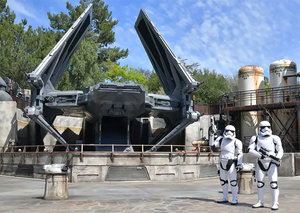 In Pictures: Star Wars theme park opens in Disneyland