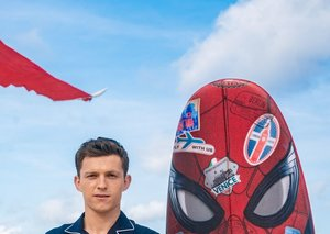 Tom Holland proves the pyjama shirt is going nowhere