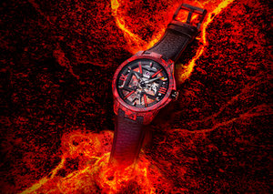 Ulysse Nardin is heating things up with new magma watch