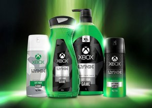 Xbox and Axe team-up to great grooming products