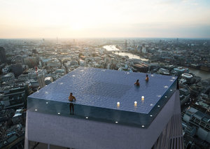 Coming soon: The world's first 360-degree infinity pool