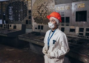 Fascinating look inside Chernobyl's tourism trade