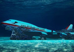 Bahrain is sinking a Boeing 747 for an underwater theme park