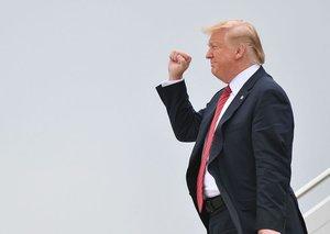 Donald Trump sent a Valentine to Kim Jong Un
