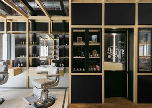 Akin At The Beach is the coolest barbershop in Dubai
