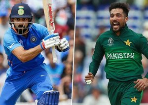 What is everyone saying about the India-Pakistan cricket match?