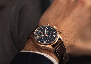 A super complex golden IWC is going under the hammer for charity