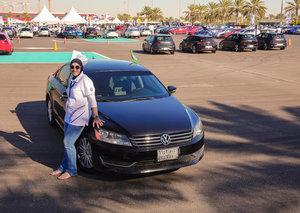 The first women's car club has opened in Saudi Arabia