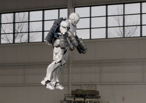 A flying, wearable, bulletproof Iron Man suit is real