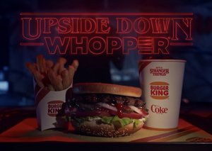 Stranger Things x Burger King Whopper to be served upside down