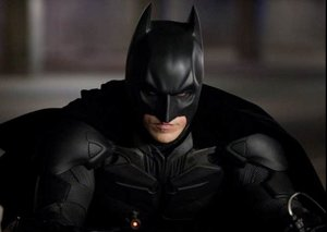 This is the world's favourite Batman and it's not George Clooney