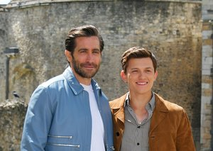 Jake Gyllenhaal And Tom Holland prove jackets aren't just for winter