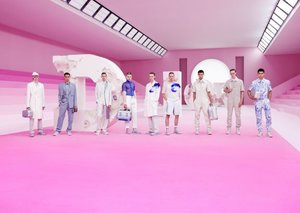 Dior's Kim Jones SS20 show is in the pink of condition