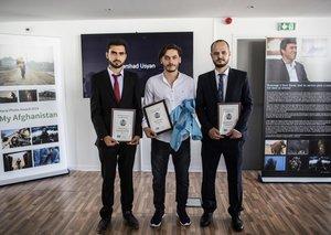 3 Afghan photographers have just won the Shah Marai prize