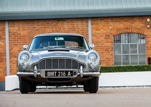 "IN PICTURES: 1965 Aston Martin DB5 ""Bond Car"""