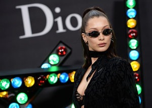 Bella Hadid's father defends her as controversy heats up