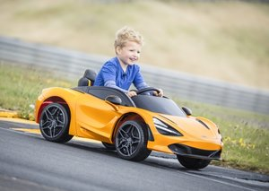 McLaren has created a mini 720s supercar for kids