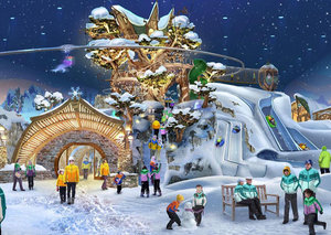 The world's largest snow park? Anything is possible in the UAE