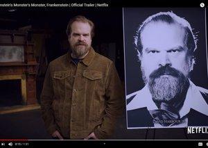 Netflix unveils Frankenstein's Monster's Monster with David Harbour