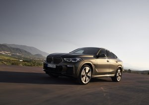 New BMW X6 SUV coupe unveiled